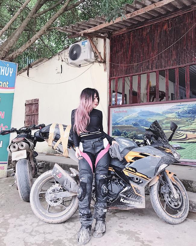 Hot girl mô tô phân khối lớn Phạm Ngọc Mai chia sẻ về hành trình khóc sau tay lái - Ảnh 8.