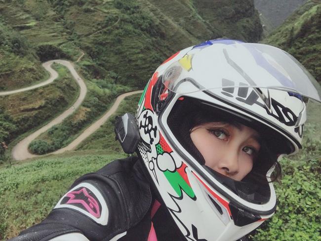 Hot girl mô tô phân khối lớn Phạm Ngọc Mai chia sẻ về hành trình khóc sau tay lái - Ảnh 10.