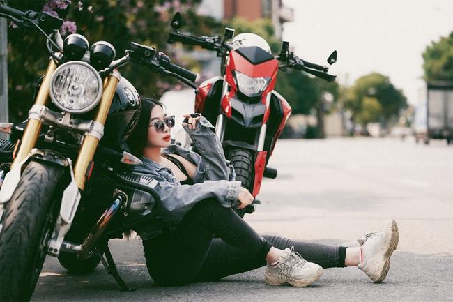 Hot girl mô tô phân khối lớn Phạm Ngọc Mai chia sẻ về hành trình khóc sau tay lái - Ảnh 11.
