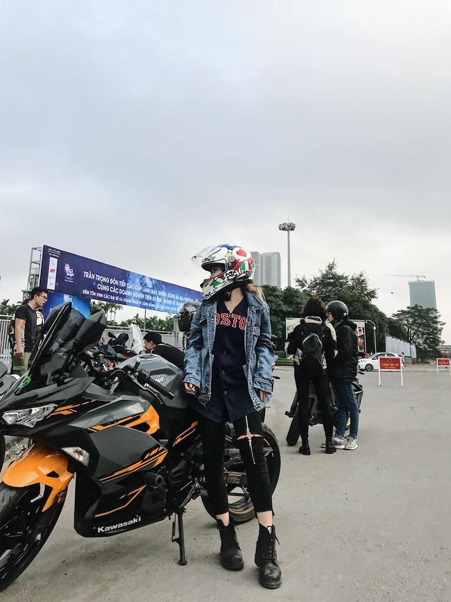 Hot girl mô tô phân khối lớn Phạm Ngọc Mai chia sẻ về hành trình khóc sau tay lái - Ảnh 12.