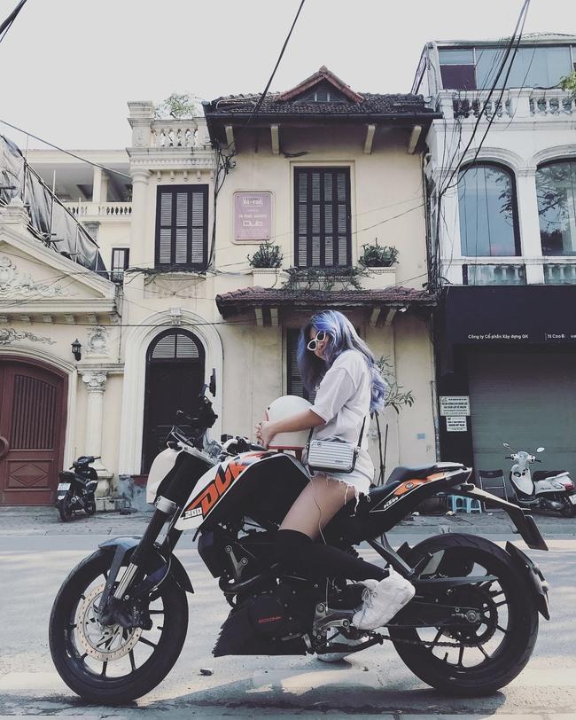 Hot girl mô tô phân khối lớn Phạm Ngọc Mai chia sẻ về hành trình khóc sau tay lái - Ảnh 4.