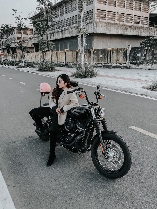Hot girl mô tô phân khối lớn Phạm Ngọc Mai chia sẻ về hành trình khóc sau tay lái - Ảnh 2.