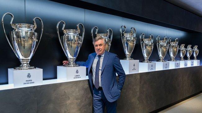 Ancelotti là tân HLV của Real Madrid.