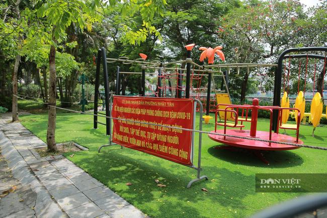Hà Nội: Hồ Tây vắng vẻ lạ thường sau quy định mới - Ảnh 3.