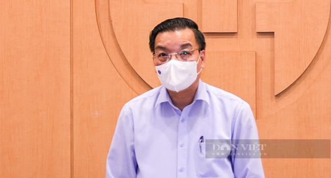 Chủ tịch UBND TP.Hà Nội Nguyễn Ngọc Anh.