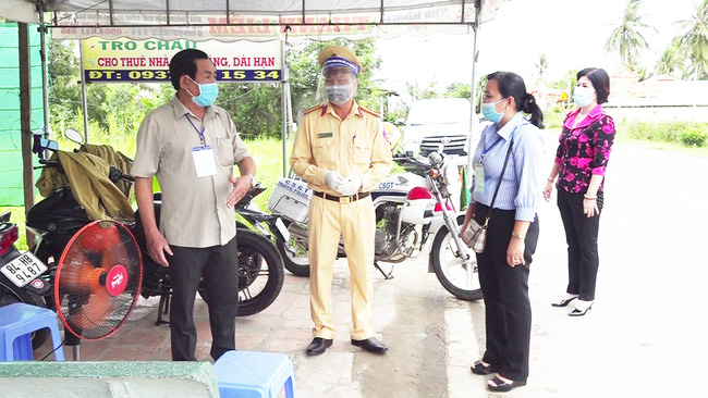 Trà Vinh: Cán bộ ở huyện Cầu Kè không được đến quán ăn, uống cà phê - Ảnh 1.