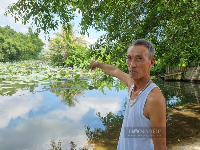 """Ninh Bình: Hàng chục hộ dân làng Quang Hiển """"khát nước"""" sạch sinh hoạt - Ảnh 2."""