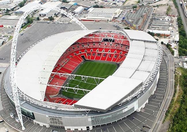 Wembley đã diễn ra trận chung kết EURO.