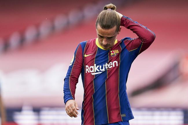 Griezmann chưa thành công ở Barcelona.