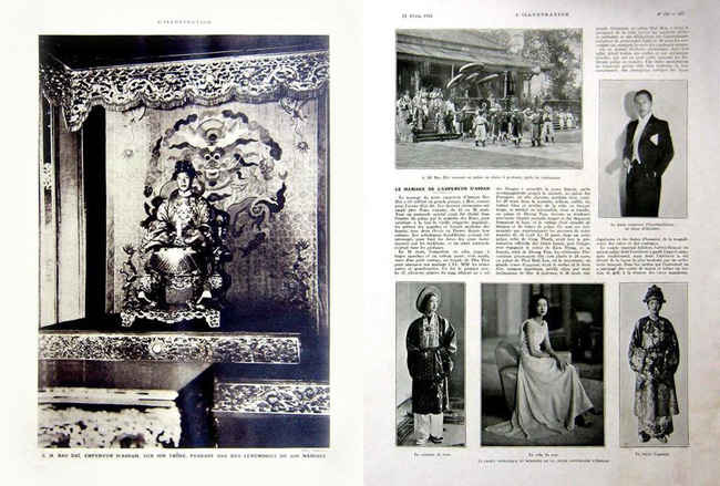 Chuyện cưới xin ít biết của Bảo Đại và Nam Phương Hoàng hậu - Ảnh 1.