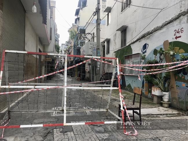 Hẻm Sài Gòn những ngày phong tỏa - Ảnh 2.