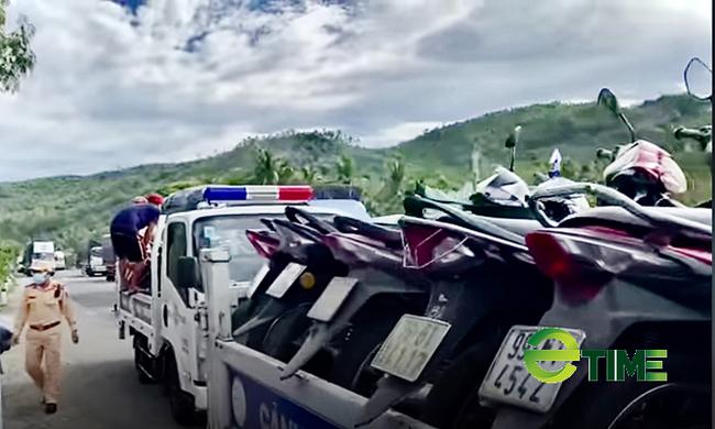 Quảng Ngãi: Người lao động từ vùng có dịch phía nam đang ồ ạt về quê bằng xe máy  - Ảnh 6.