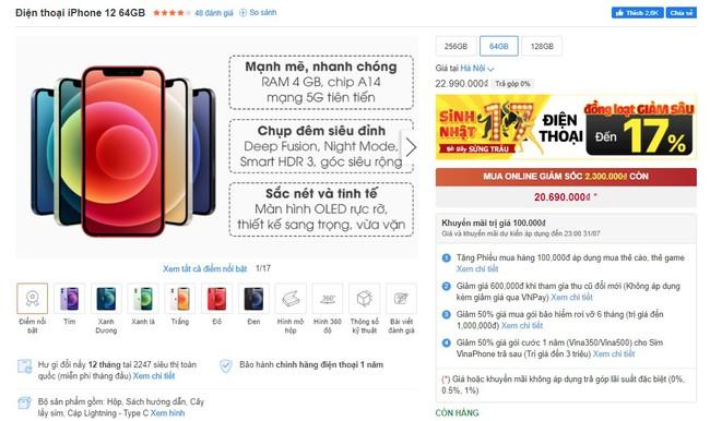 Ảnh hưởng dịch bệnh Covid-19, iPhone tiếp tục giảm giá cực sâu trong tháng 7 - Ảnh 2.