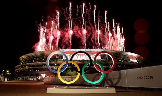 CHÙM ẢNH: Đoàn Việt Nam diễu hành tại lễ khai mạc Olympic 2020 - Ảnh 1.