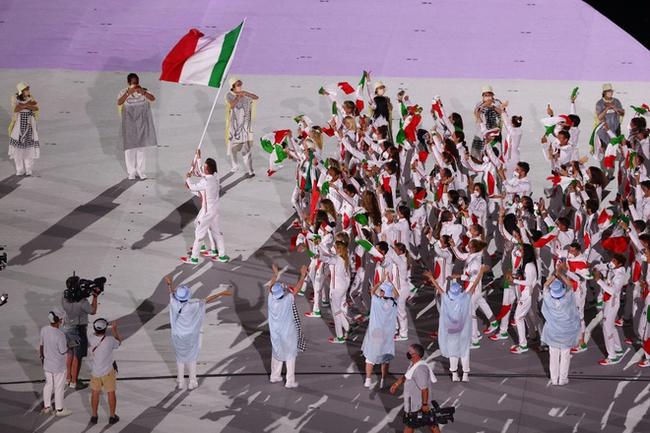CHÙM ẢNH: Đoàn Việt Nam diễu hành tại lễ khai mạc Olympic 2020 - Ảnh 13.
