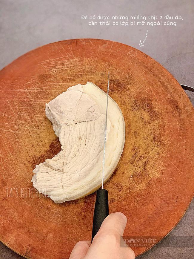 Tự làm món bánh tráng cuốn thịt lợn 2 đầu da tại nhà - Ảnh 7.