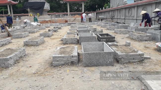 Thái Nguyên: Hé lộ nguyên nhân các ngôi mộ Liệt sỹ bị san phẳng tại nghĩa trang xã Úc Kỳ - Ảnh 2.