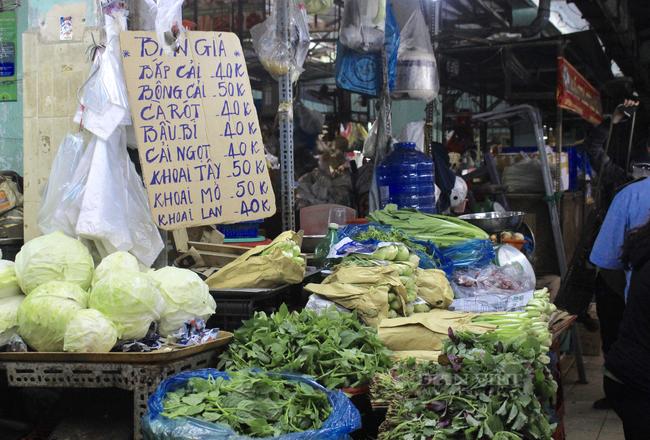 TP.HCM: Tiểu thương chợ treo bảng niêm yết giá y như siêu thị - Ảnh 6.
