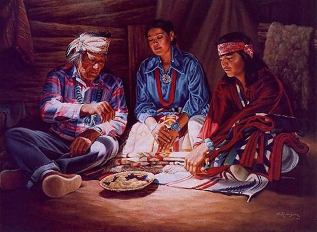 """Khách du lịch bị mê hoặc bởi bí mật của bộ lạc """"Những người nói chuyện bằng mật mã Navajo"""" nổi tiếng - Ảnh 8."""