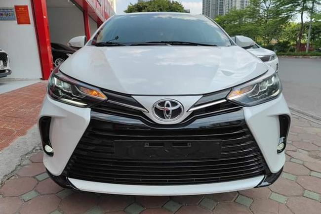 Ngỡ ngàng giá Toyota Vios 2021 siêu lướt sau hơn 5.000km - Ảnh 1.