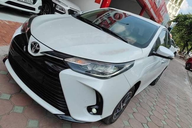 Ngỡ ngàng giá Toyota Vios 2021 siêu lướt sau hơn 5.000km - Ảnh 2.