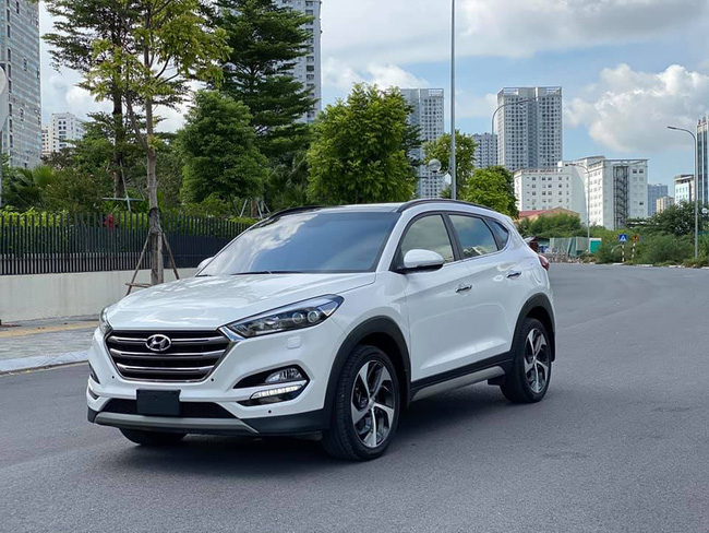 Khó tin độ giữ giá của Hyundai Tucson sau 3 năm lăn bánh - Ảnh 1.