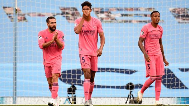Varane, tân binh của M.U. Ảnh: Real Madrid.