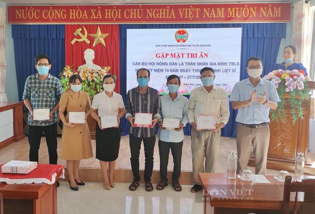 Quảng Nam: HND thị xã Điện Bàn tổ chức nhiều hoạt động nhằm tri ân ngày 27/7 - Ảnh 4.