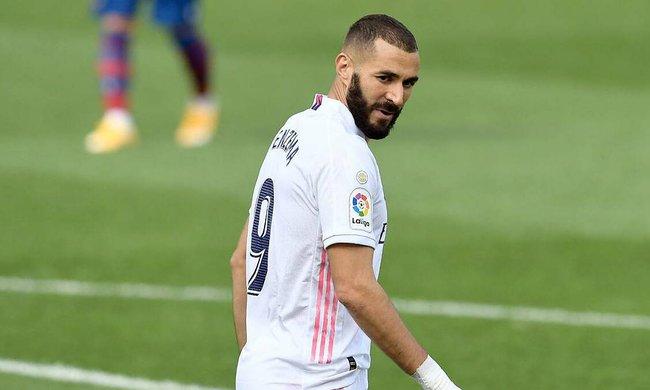Benzema vẫn đang có phong độ ghi bàn ổn định. Ảnh: The Sun.