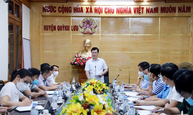 Phát hiện 17 ca dương tính Covid-19, Nghệ An cách ly xã hội Chỉ thị 16 toàn huyện Quỳnh Lưu - Ảnh 1.