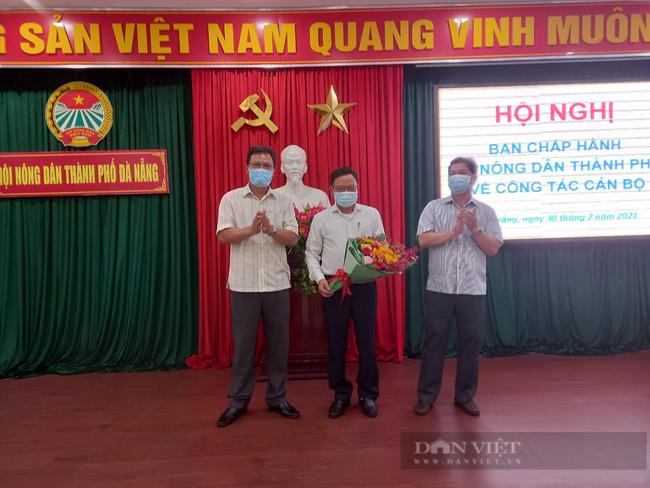 Ông Nguyễn Hữu Thiết, được bầu giữ chức vụ Chủ tịch Hội Nông dân thành phố Đà Nẵng - Ảnh 1.