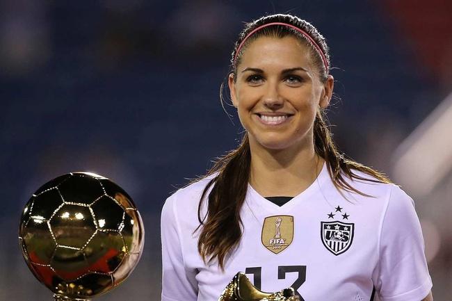 Alex Morgan: Cầu thủ xinh nhất ở bán kết bóng đá nữ Olympic 2020 - Ảnh 4.