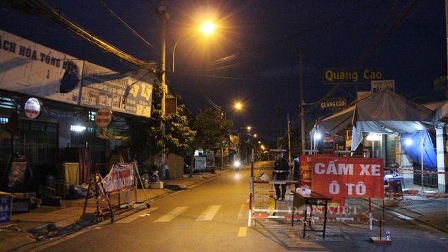 Một chốt kiểm soát ở phường Tam Bình tháo phong tỏa. Ảnh: Nguyên Vỹ