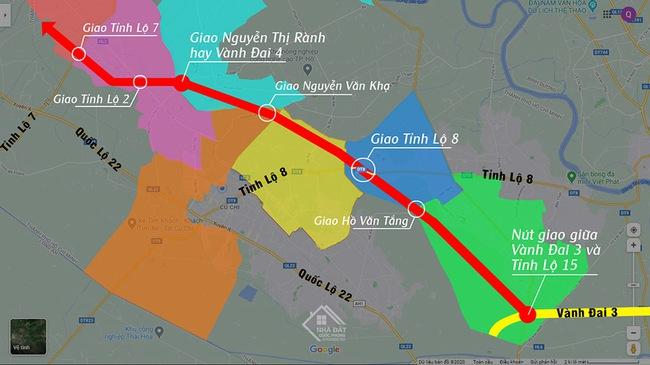 Đề xuất 15.900 tỷ đồng để xây dựng cao tốc TP.HCM – Mộc Bài - Ảnh 1.