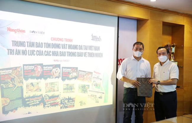 Trung tâm Bảo tồn Động vật hoang dã tại Việt Nam tri ân nhóm phóng viên NTNN/Dân Việt nỗ lực bảo vệ thiên nhiên - Ảnh 3.