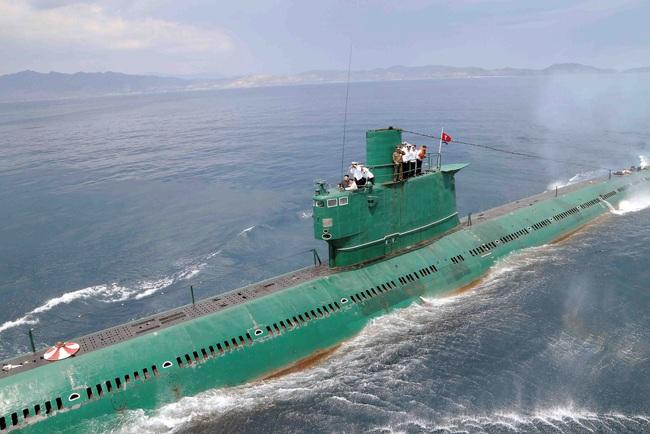 Tàu ngầm của Triều Tiên luôn là bí ẩn mà chưa có lời giải? - Ảnh 1.