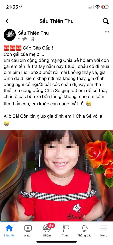 base64 1629414774887269875977 TP.HCM: Bé gái 6 tuổi bị bắt cóc khi đi mua bim bim là tin giả