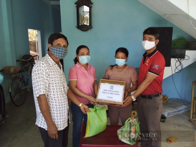 Quảng Nam: Hội Nông dân thị xã Điện Bàn chia sẻ yêu thương, chung tay phòng chống dịch Covid 19 - Ảnh 4.