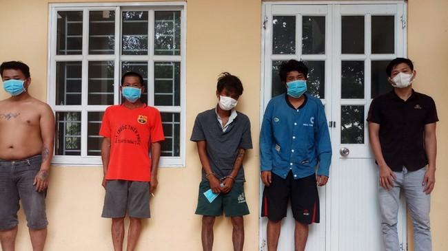 matuy1kbdk 1630124841685627489683 Bình Thuận: Công an trấn áp nhóm đối tượng nghiện ma túy quậy phá trong khu cách ly