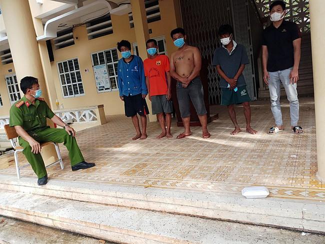 matuydicr 1630124942564296523600 Bình Thuận: Công an trấn áp nhóm đối tượng nghiện ma túy quậy phá trong khu cách ly