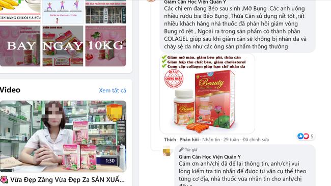 Chị em cẩn trọng với 2 sản phẩm Beauty Slim Plus và Bách Hoa Tiên đang quảng cáo trên mạng - Ảnh 1.