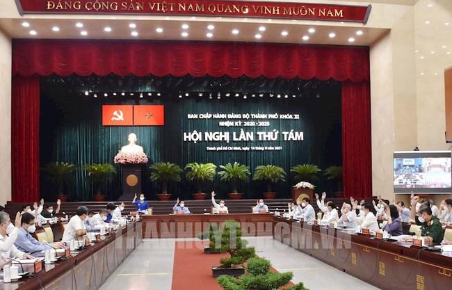 """Bí thư Thành ủy TP.HCM Nguyễn Văn Nên: """"Thành phố từng bước mở cửa nền kinh tế, không nôn nóng, không quá chậm"""" - Ảnh 3."""