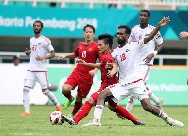 Tuyển Việt Nam từng gây nhiều khó khăn cho UAE ở vòng loại thứ 2. Ảnh: Sport