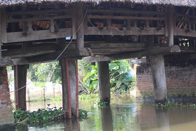 Thưởng lãm cầu lợp làng Kênh có tuổi thọ hàng trăm năm, 'độc nhất vô nhị' ở Việt Nam - Ảnh 3.