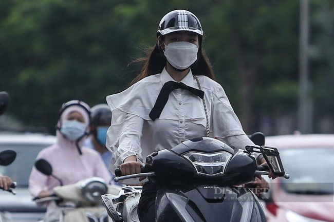 Hình ảnh một số tuyến đường ở Hà Nội đông đúc trở lại - Ảnh 4.