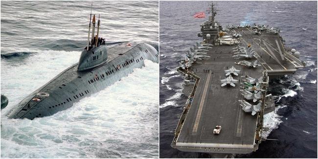 Kinh hoàng những vụ tàu ngầm Liên Xô đâm vào tàu sân bay Mỹ - Ảnh 5.