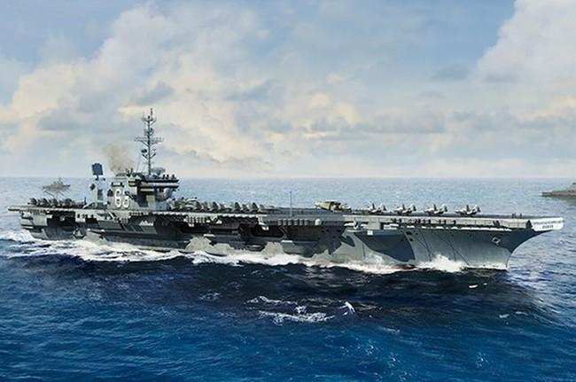 Kinh hoàng những vụ tàu ngầm Liên Xô đâm vào tàu sân bay Mỹ - Ảnh 8.
