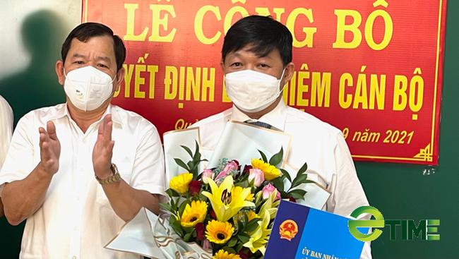 """Quảng Ngãi: Ban quản lý dự án lớn """"nhất, nhì"""" của tỉnh có Giám đốc mới  - Ảnh 3."""