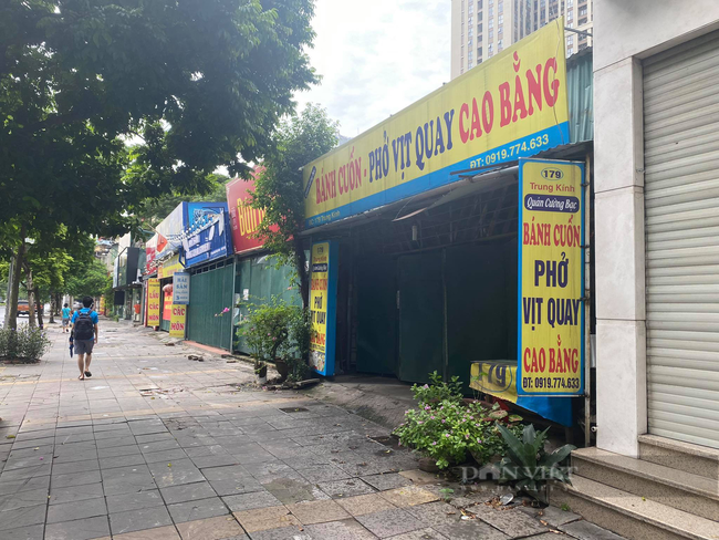 Thiếu nguyên liệu, nhân công nhiều hàng quán tại Hà Nội vẫn chưa thể mở lại - Ảnh 1.