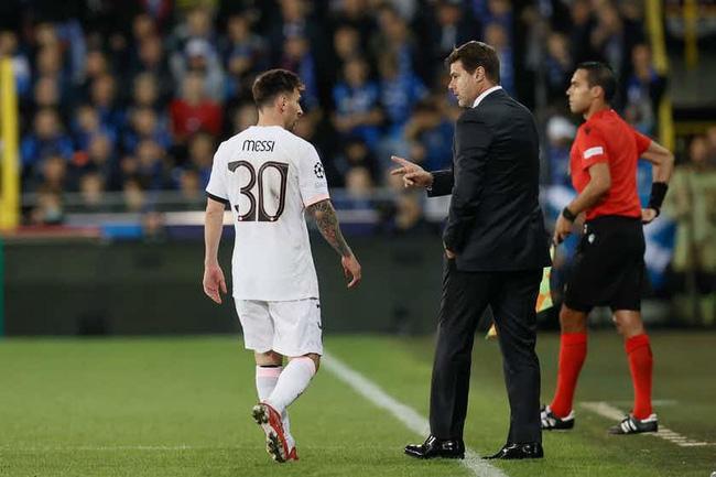 Messi mới ra sân 2 trận cho PSG. Ảnh: Marca